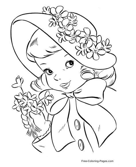 free coloring pictures princess pictures to color for coloring home