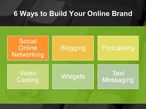 build your online 6 ways to build your online brand3