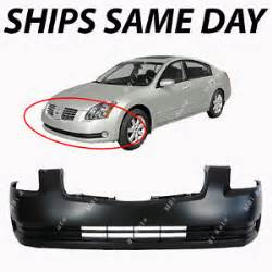 Car Cover For Nissan Maxima New Primered Front Bumper Cover Fascia For 2004 2005