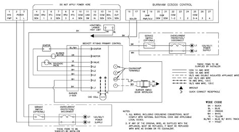 burner controls wiring diagram free engine image