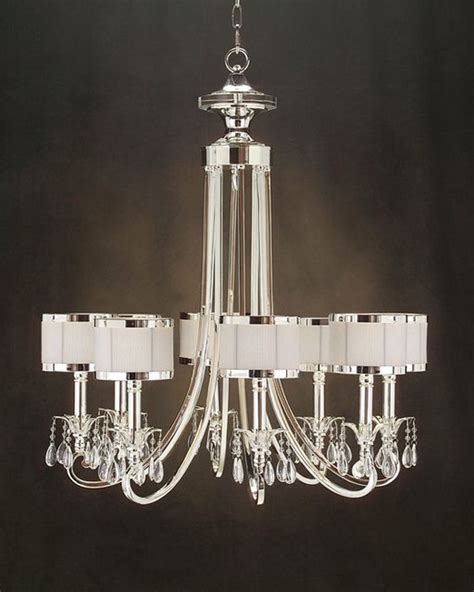 Designer Chandelier Lighting Richard 8 Light Chandelier Ajc 8512 Modern Chandeliers By The Cottage