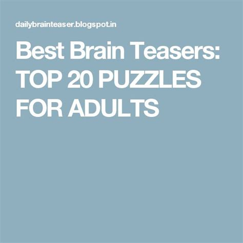 riddles for riddles and brain teasers books 25 best ideas about best brain teasers on