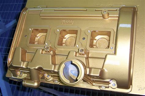 Lackieren Welche Temperatur by Sonderlackierung Einer Ansaugbr 252 Cke F 252 R Den Audi Rs4 In Gold