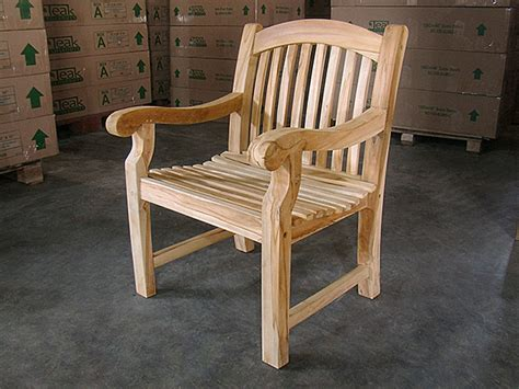 teak arm chair sumo
