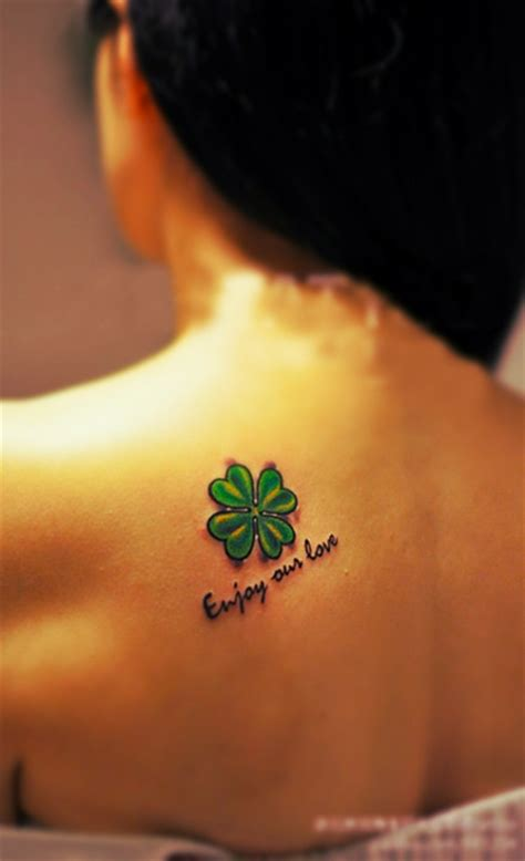 bright tattoos 25 best ideas about four leaf tattoos on four
