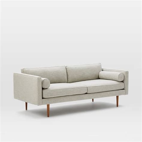 west elm monroe sofa review monroe sofa west elm monroe mid century sofa model