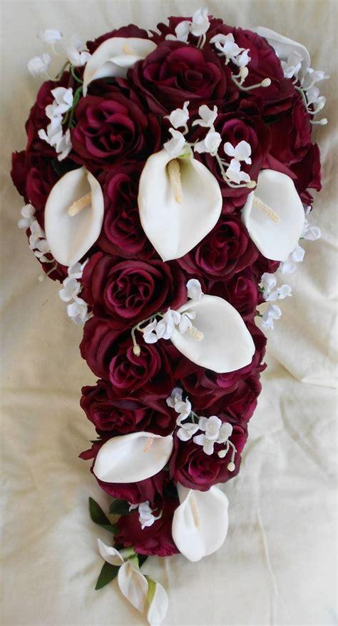 best 25 burgundy wedding flowers ideas on