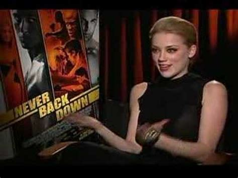 amber heard friday night lights amber heard interview for never back down