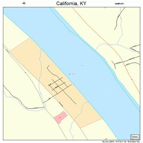 california ky map california kentucky map 2111872