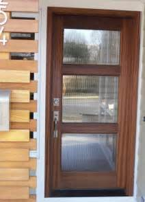 exterior wood doors with glass panels wood and glass entry door modern front doors other