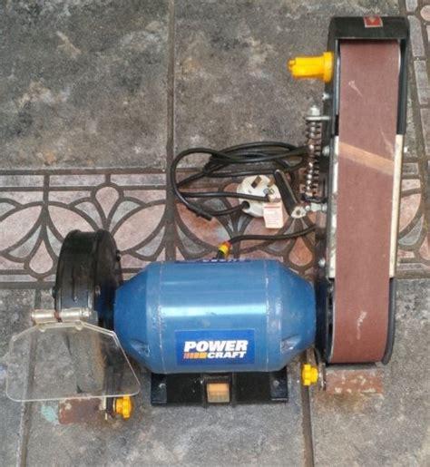 powercraft bench grinder powercraft 1228 240w bench grinderbelt sander for sale in