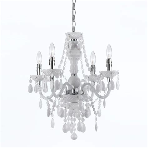 white mini chandelier hton bay 3 light white mini chandelier with