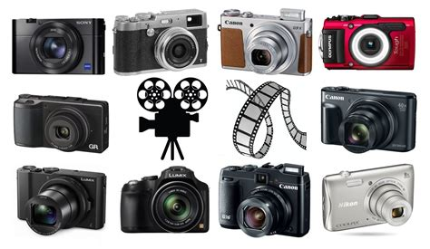 best point the best point and shoot cameras for filming the
