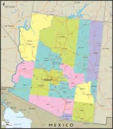 arizona map free large images