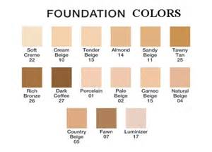 foundation colors foundation and consealers
