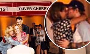 Ed sheeran and girlfriend cherry seaborn photobomb taylor swift s