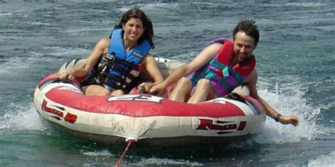 banana boat ride mauritius water sea activities on the east coast 1 day package