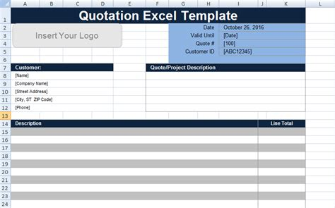 Free Quotation Template Excel Uk Project Management Templates And Certification Excel Excel Quotation Template With Database