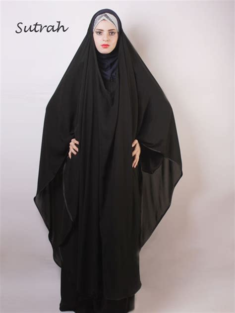 Khimar Nabila Ribbon 1 chiffon khimar abaya islamic clothing islamic boutique
