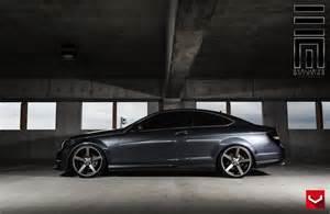 vossen cv3r on mercedes c class coupe prestige wheel