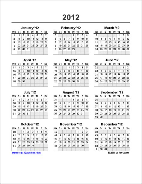 2014 Calendar With Week Numbers 2014 Calendar With Week Numbers