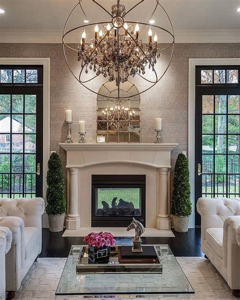 beautiful living rooms with fireplace best 25 traditional interior doors ideas on