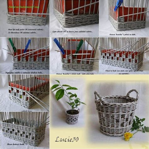 Useful Paper Crafts - best 20 paper basket ideas on recycle paper