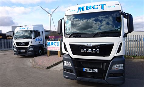 trucks uk truck uk on the road with refrigerated transport