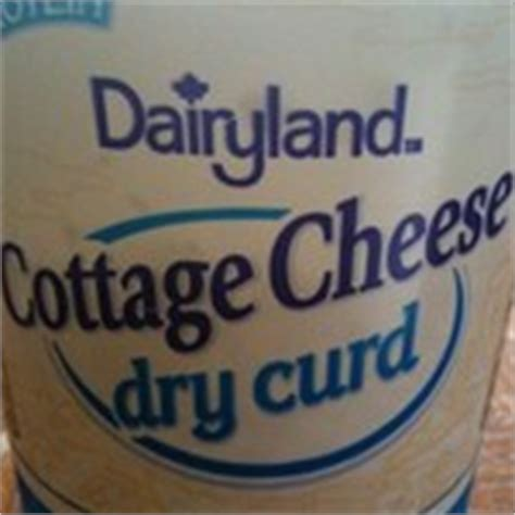 dairyland curd cottage cheese cottage cheese curd calories and nutrition facts