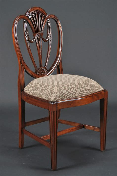 Sweetheart Chair by Swag Sweetheart Shield Back Dining Room Chairs Solid Mahogany