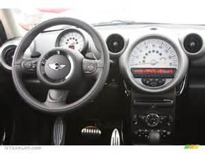 Mini Cooper Dash 2012 Mini Cooper S Countryman Carbon Black Dashboard Photo