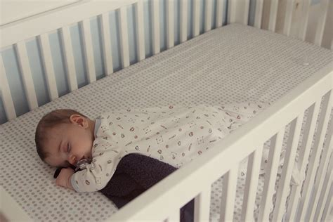 How To Make A Newborn Sleep In Crib by Guess Who Is Sleeping On His Stomach