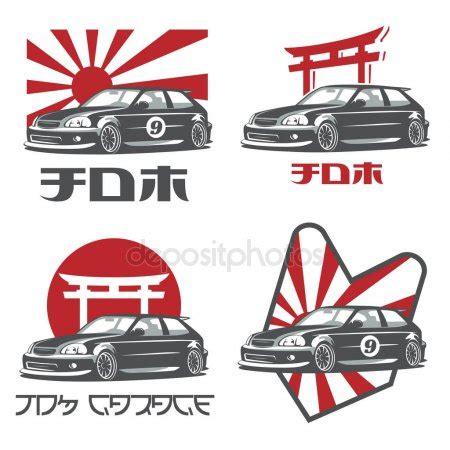 Sticker Toyota Trd Legend Design ferris wheel on white background stock vector