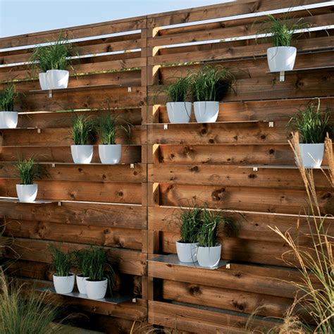 Planter Screen by Cedar Privacy Screens Cedar Deck Privacy Screen In Calgary New Deck Ideas