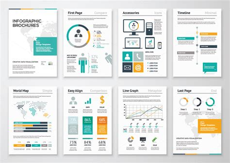 illustrator presentation templates infographic brochures 2 presentation templates on
