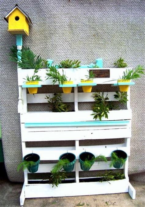 Vertical Garden Planters Diy - econom 237 a y decoraci 243 n con palets 171 manualidades