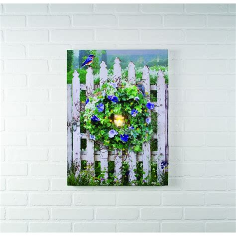 Lighted Canvas Pictures by Lighted Canvas Pictures Battery Operated Wall