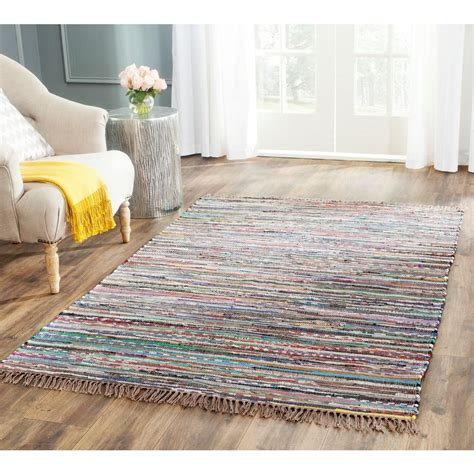 safavieh rag rug rust multi 8 ft x 10 ft area rug