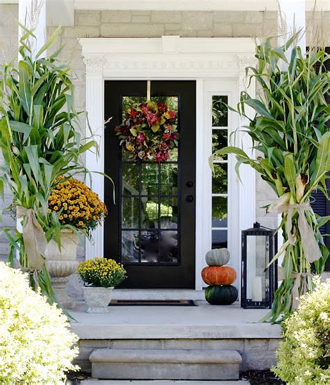Beautifully Decorated Christmas Homes by 10 Entryway Ideas That Celebrate Fall In Style