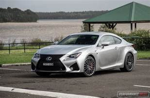 2017 lexus rc f review performancedrive
