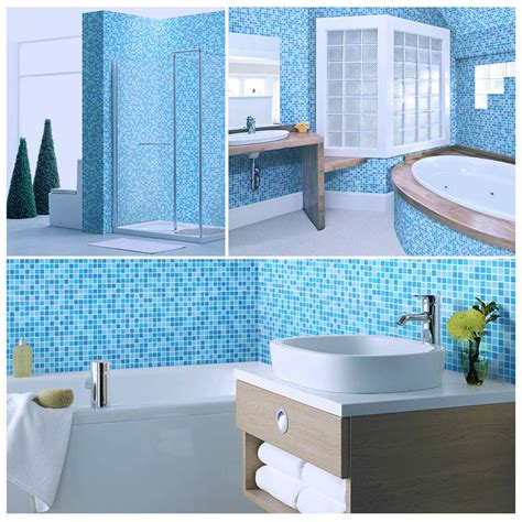 pool bathroom flooring ljo jy sw 03 best selling china premium blue glass mosaic