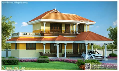Traditional Home Plans With Photos by Traditional House Plans In Kerala Kerala House Plans