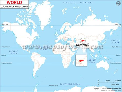 kyrgyzstan in world map where is kyrgyzstan location of kyrgyzstan