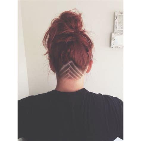 undercut neck pattern nape triangle undercut experiences femalehairadvice