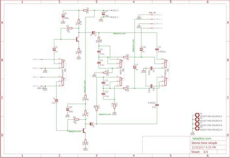 exle tone arduino stereo tone control using transistor tataylino com
