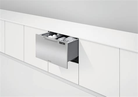fisher paykel drawer style dishwasher dd24sax9 fisher paykel 24 quot single drawer dishwasher