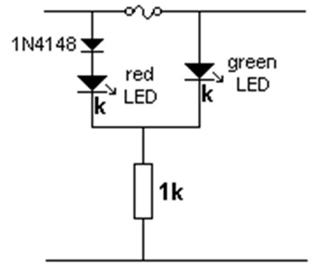 blown fuse indicator led circuit schematic diagram simple transistor circuits for new hobbyists