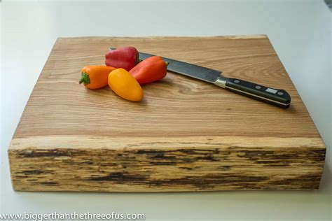 how to make a board how to make a cutting board out of a tree stump