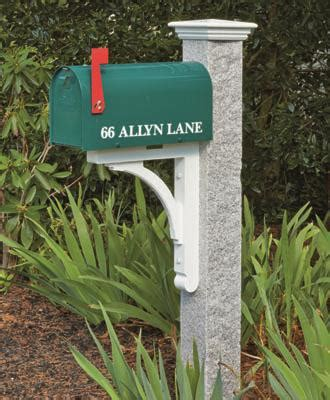 walpole woodworkers l posts granite mailbox posts from walpole woodworkers