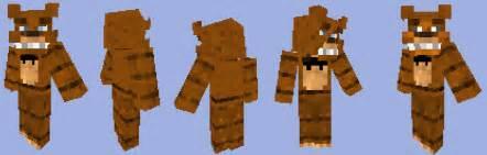 Fnaf freddy 2 skins minecraft by morganthekeaton on deviantart